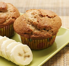 Muffin, Batter, Banana Nut, Scoop