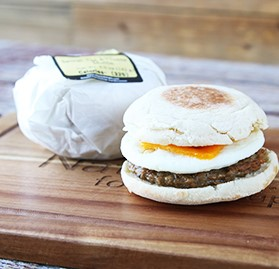 Breakfast Sandwich, Sausage & Egg English Muffin