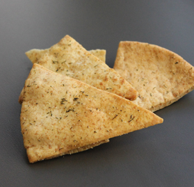 Pita Chips, Garlic & Herb, Bulk, Garlic & Herb, AA