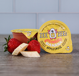 Strawberry Banana Applesauce, 4.5 oz