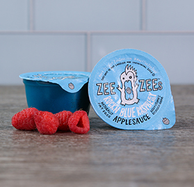 Rock'n Blue Raspberry Applesauce, 4.5 oz - Commodity