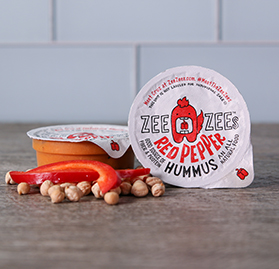 Red Pepper Hummus, 3 oz - Commodity