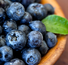 Fruits, Blueberries, IQF, 30lb, AA