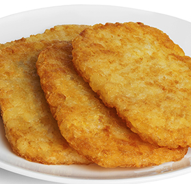 Potatoes, Hashbrown, Oval Patty