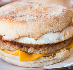 Breakfast Patty, Sausage, Chicken, FC, 1.37 oz.