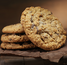 Cookie, Baked Oatmeal Raisin, Bulk, 1 oz. *K