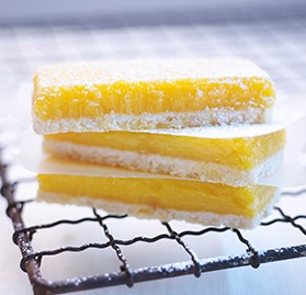 Bar, Lemon Bar, Sheet, Unsliced, Half Sheet, AA