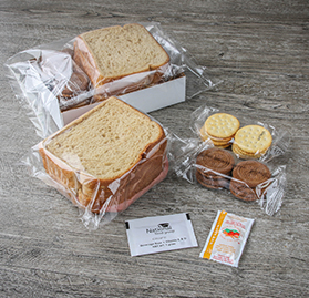 Box Meal, IW Sandwich & Snacks, Turkey Ham, AA image