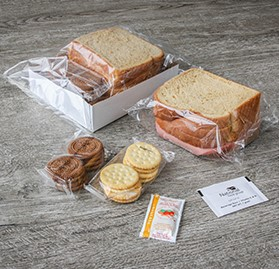 Box Meal, IW Sandwich & Snacks, Turkey Bologna, AA