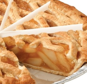"Pie, Apple Lattice, 10"", 10 Pre-slices"