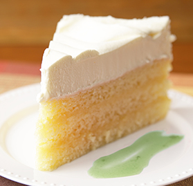 Cake, Key Lime, Triple Layered