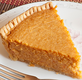 "Pie, Sweet Potato, 10"", 8 Slices"