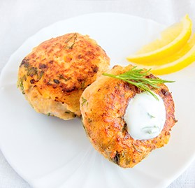 Crab Cake, Mini, Ready to Cook, 0.75oz