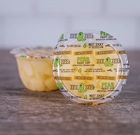 Pear Fruit Cup, Cinnamon Snap, 4.5 oz