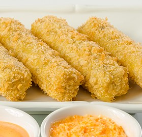 Mozzarella Sticks, Breaded, Jalapeno, 1oz