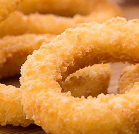 Onion Ring, Breaded