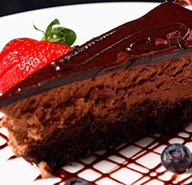Cake, Belgian Chocolate Mousse
