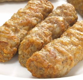Breakfast Sausage, Link, Pork, Maple, FC, 0.8oz