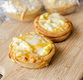 Egg & Cheese Breakfast Pizza Sliders, I/W, WG