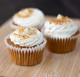 Cupcake, Mini, Carrot Cake, Cream Cheese Frosting, 0.84 oz