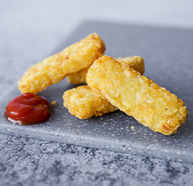 Potatoes, Mini Hashbrown Sticks 0.5 oz.