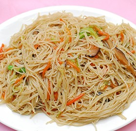 Chow Mein, w/Vegetables, Cooked