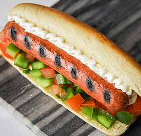 Vegetarian Hot Dog, 1.42oz, AA