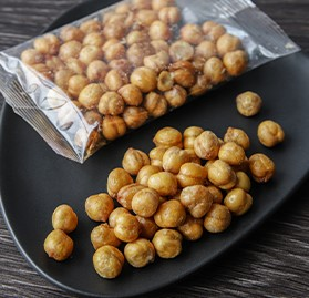 Chickpeas, Roasted & Lightly Salted, IW, 1oz