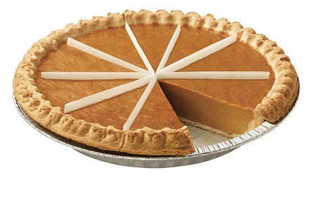 Thaw & Serve Pumpkin Pie,Presliced, 10""