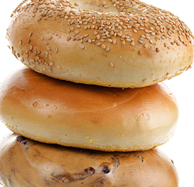 Bagel, Assorted, Seconds, 5oz