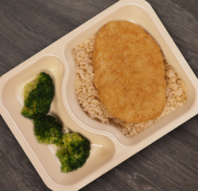 Kosher Meal, Breaded Whitefish, SpecialDietMealSolution