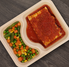 Kosher Meal, Vegetarian, Lasagna
