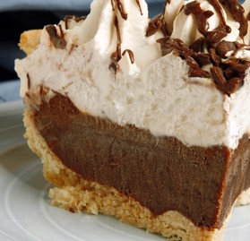 Pie, Chocolate Cream, 8 Pre-Cut Slices