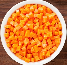 Carrots, Diced Canned