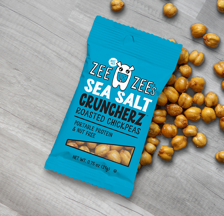 Sea Salt Cruncherz Roasted Chickpeas