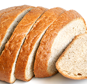 Kosher Bread, Whole Wheat, IW 2 Slice, AA