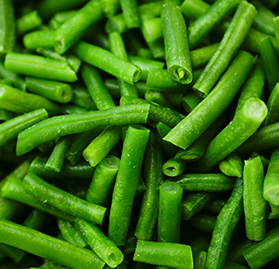 Vegetable, Green Beans, Random Cut, IQF