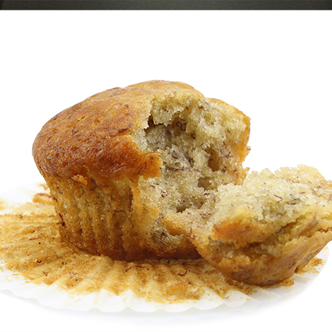 Muffin, Banana Nut, IW, 2oz