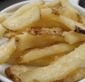 "Fries, Beer Battered, 1/4"" x 1/2"", Seasoned, Crispy"