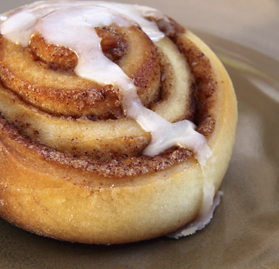 Cinnamon Roll, w/Cream Cheese Icing Cup, 5 oz.