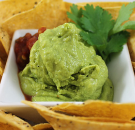 Guacamole, Thaw & Serve
