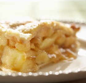 Pie, Apple Lattice, Prebaked, Sliced, 10""