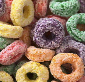 Cereal, Fruit Rings, 1.05oz, AA
