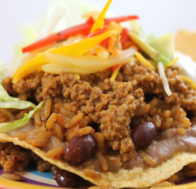Taco Meat, All Beef, Fully Cooked, Boil-in-a-Bag