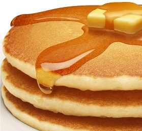 IQF golden brown pancake, 4 inch diamater, 144/1.2oz