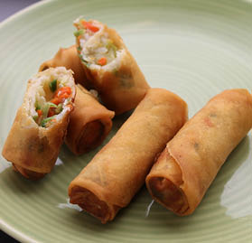 Spring Roll, Vegetable, 1oz, AA