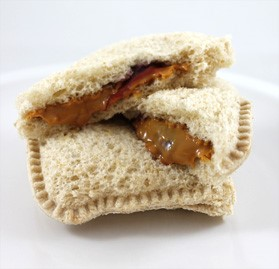 Individually Wrapped 2.8oz Soy Butter & Grape Jelly Sandwich