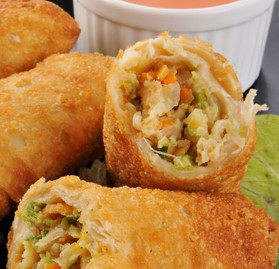 Cooked Chicken Egg Roll, 4.6oz