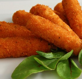 Mozzarella Sticks, Breaded, 1oz, AA