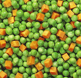Vegetable Blend, Carrots & Peas IQF Bulk
